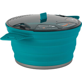 Sea to Summit X-Pot Enamel, 2.8 litre pacific blue